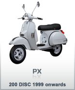 PX 200 DISC 1999 ONWARDS