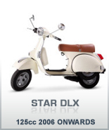 STAR DLX 125 2006 ONWARDS