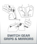 Switch Gear, Grips & Mirrors