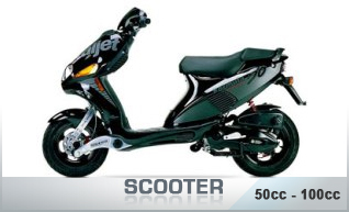 Scooters 50/100cc