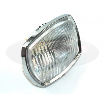 Salt Lamps Blue Ridge Ga : BOSATTA LAMBRETTA GP HEADLIGHT W/RIM POLYCARBONATE TYPE
