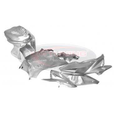 Capelli High Gloss Silver Metalic Evo Body Kit - Yamaha Aerox