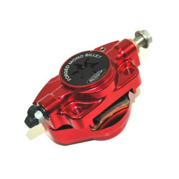 PM TUNING RED FORGED MONO BILLET BRAKE CALIPER