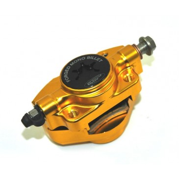 PM TUNING GOLD FORGED MONO BILLET BRAKE CALIPER