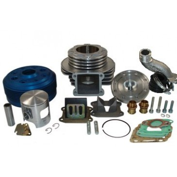 Parmakit 130cc 30mm Reed Valve Centre Plug LC Reversed Cylinder Kit