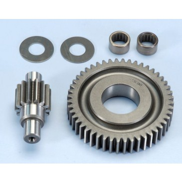 Polini Secondary 14/48 Gear Kit with Bearing Conversion - Piaggio 50cc
