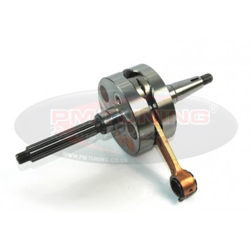 Top Racing Full Circle 52mm stroke Crankshaft Piaggio/Gilera 125-180cc