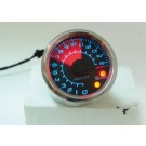 KOSO REV COUNTER 48mm - BLACK FACE