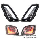 SIP CLEAR LED INDICATOR KIT F&R VESPA GTS/GTV 125-3002014 onwards