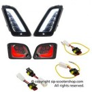 SIP SMOKED LED INDICATOR KIT F&R VESPA GT/GTS 125-300 >13