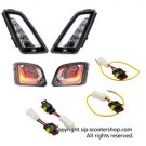 SIP CLEAR LED INDICATOR KIT F&R VESPA GT/GTS 125-300 >13