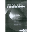 ITALJET DRAGSTER 125/180 FULL WORKSHOP MANUAL PDF ON DISC