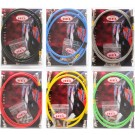 Hel Braided Stainless Steel Brake Hose Kit Clear - Gilera Runner 125cc - 180cc 2000 onwards