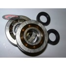 PM NTN Race Main Bearing and Seal Kit - Piaggio 50cc