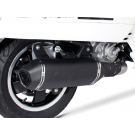 REMUS BLACK VESPA GTS 250/300cc SLIP ON EXHAUST
