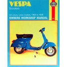 Vespa Scooters 1959 - 1978 Haynes Manual