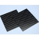 Polini Carbon Fibre Sheet 110mm x 110mm x 0.33mm