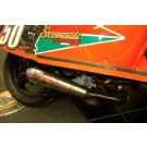 PM TUNING S/S X-TECH EXHAUST - SCOMADI TL 50cc 2014 ON