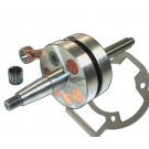 PM Tuning 55mm Long Stroke Race Crankshaft - Piaggio 125cc - 180cc
