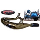 PM Tuning Evolution Chrome Expansion Chamber Exhaust - Vespa PX 125cc - 180cc