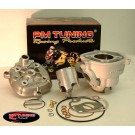 PM Tuning Aluminium X-Tech 70cc Cylinder Kit - Minarelli 50cc Liquid Cooled