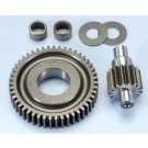 Polini Secondary 16/47 Gear Kit with Bearing Conversion - Piaggio 50cc