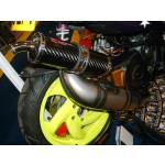 PM Tuning 360 Gilera Runner/Italjet Dragster 125cc - 180cc X-Tech Expansion Chamber Exhaust