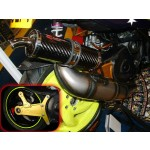 PM Tuning 360 Gilera Runner/Italjet Dragster 125cc - 180cc X-Tech Expansion Chamber Exhaust with TSAB