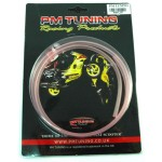 PM TUNING 3mm CLEAR OIL & OVERFLOW HOSE
